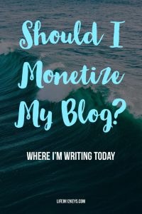 Should I Monetize My Blog?