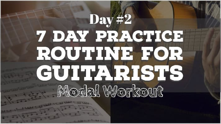 Guitar Modal Workout