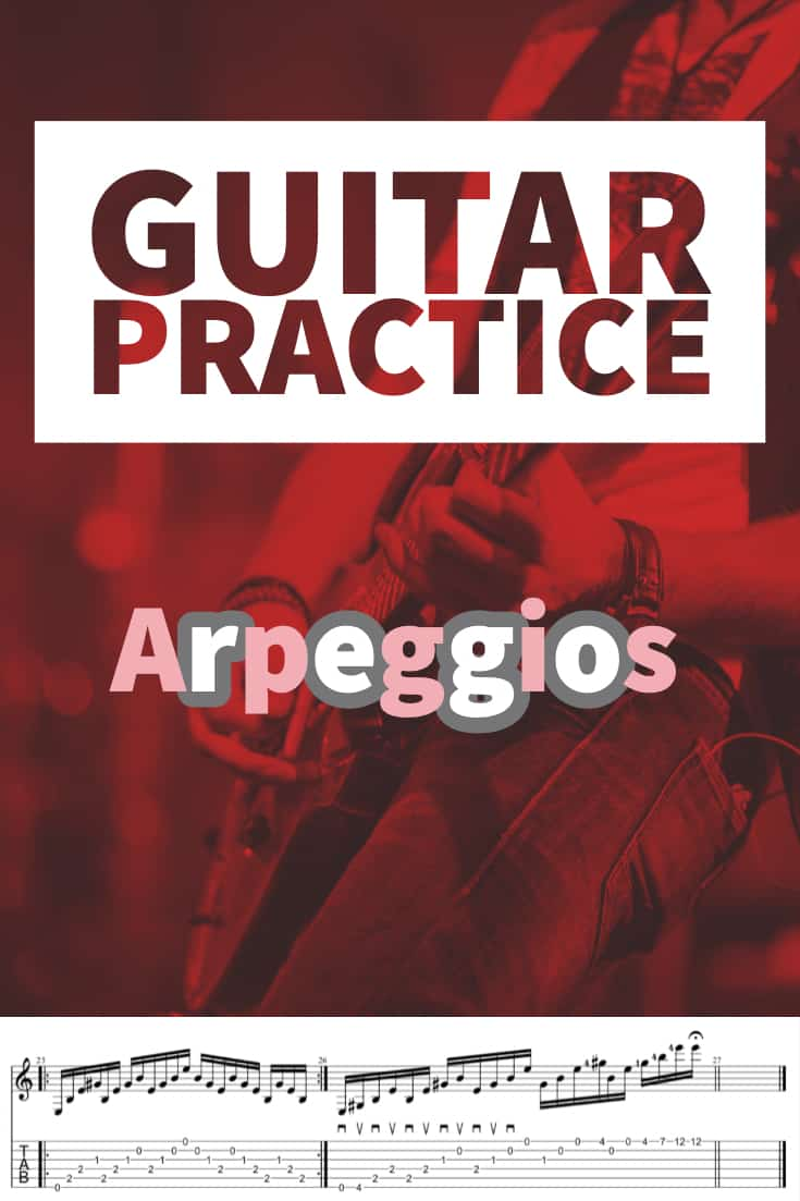 Arpeggios on Guitar! Add this arpeggio routine to your daily guitar practice routine. Includes diatonic arpeggios, 7th arpeggio, diminished shapes and sequences.