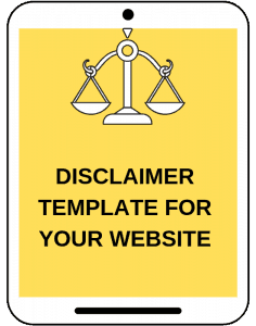 Disclaimer for you blog