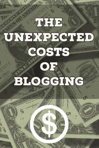 The Unexpected Costs of Blogging