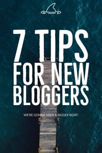 7 Tips for new Bloggers. Tips and Tricks for new bloggers including resources and advice from 2 money-making blog experts.
