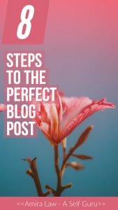 8 Steps to the Perfect Blog Post. A comprehensive guide to creating and improving Blog posts in WordPress.