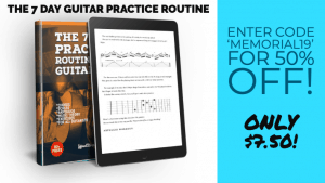Guitar book Memorial Day sale