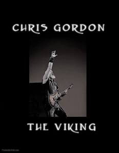 Guitarist Chris Gordon