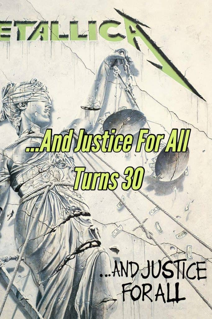 Metallica ...And Justice For All Turns 30. Check out this review of their monster 1988 Metal album on vinyl.