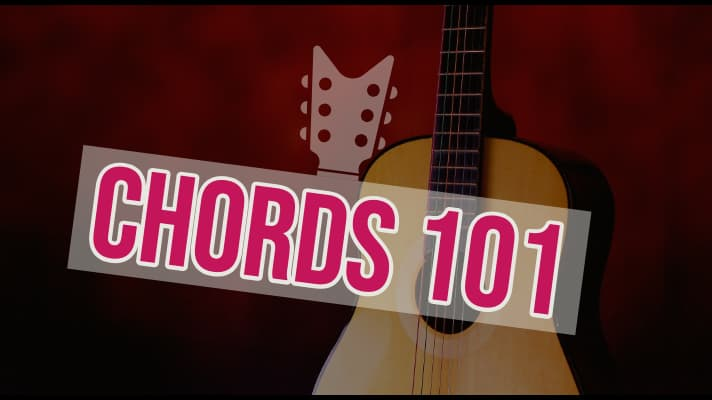 Guitar Chords 101. Everything you need to know to understand how chords are created and how to build your own chords from scratch. Includes all of the music theory, diagrams and TAB to get started.