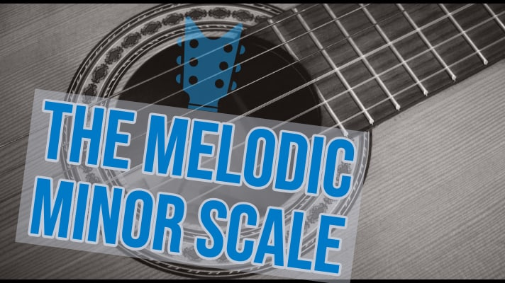Guitar Practice Melodic Minor