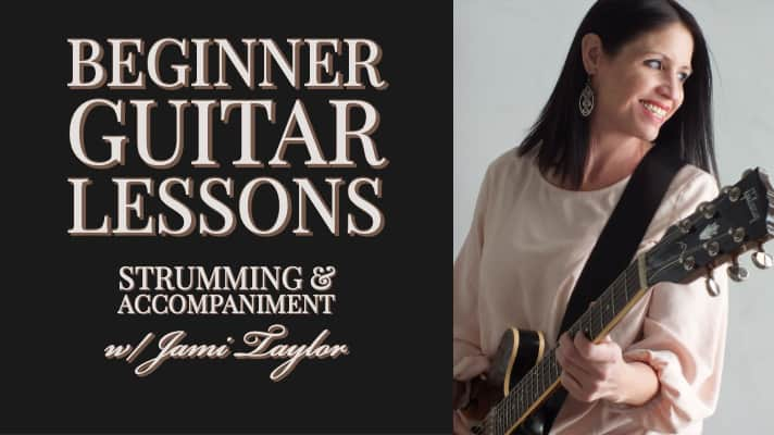 Beginner Guitar Lessons - Strumming and Accompaniment