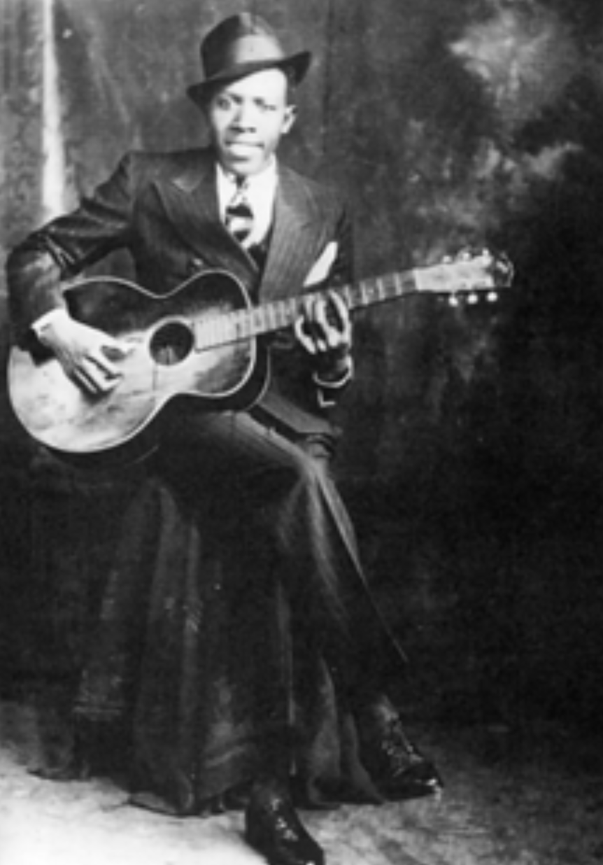 Guitarist Robert Johnson