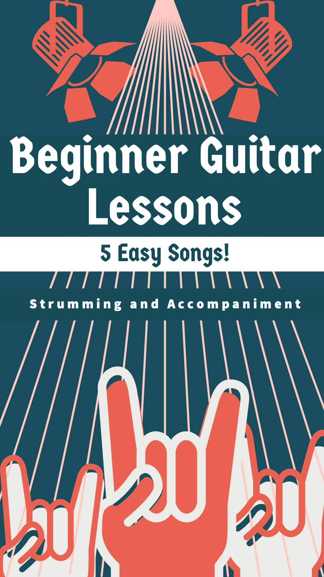 Beginner Guitar Lesson - Strumming and Accompaniment