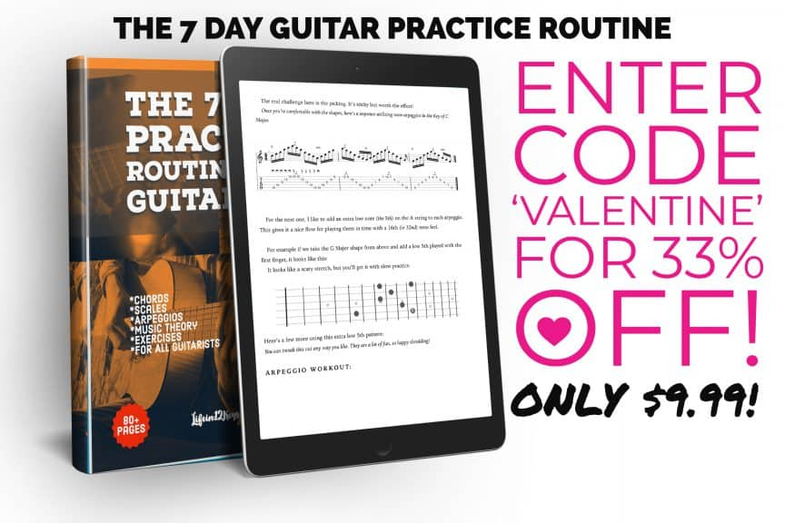 Guitar Book Valentine Sale