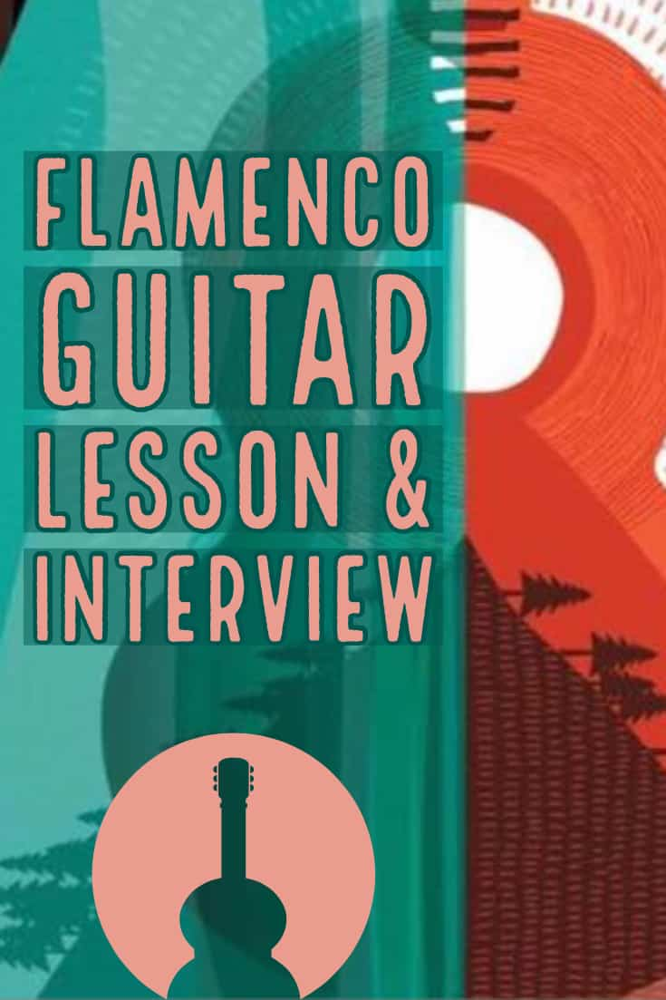 Flamenco Guitar Lesson and interview with Berto Boyd including full transcription of his Flamenco Etude #3 in TAB and standard notation.