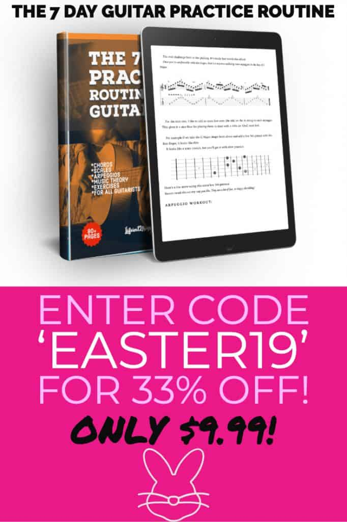 Guitar Book Sale Easter