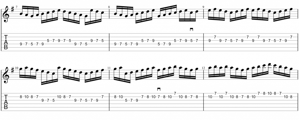A dorian picking exercise 2