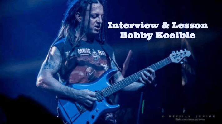 Bobby Koelble interview and guitar lesson