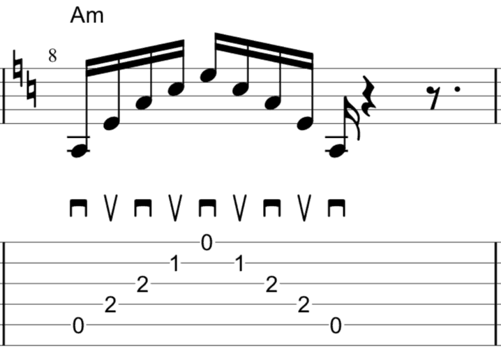 alternate picking 5 strings
