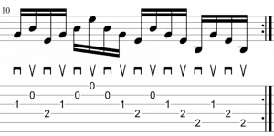 alternate picking 6 strings 2