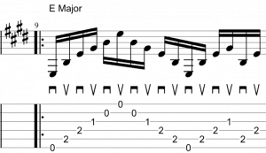 alternate picking 6 strings