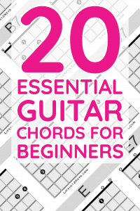20 essential guitar chords