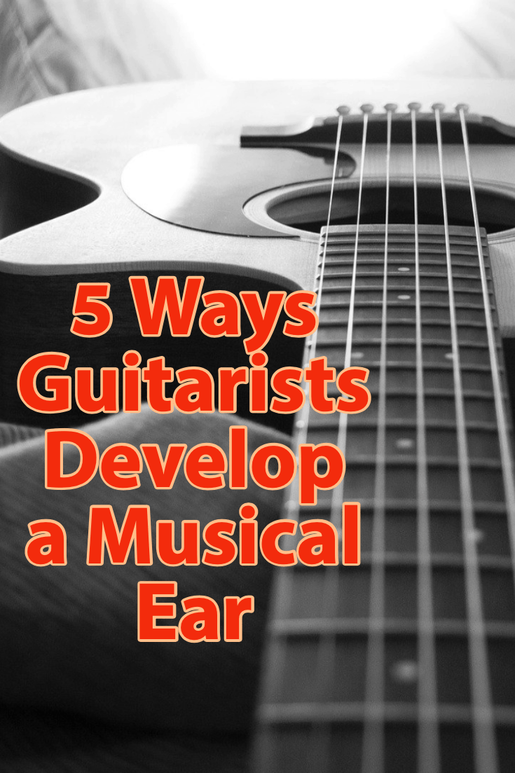 5 effective ways guitarists develop a musical ear. From transcribing to sight-singing here are some great tips to develop your ear as a guitarist.