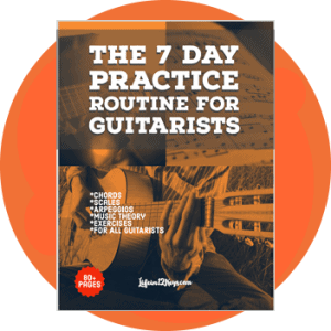 Guitar practice routine