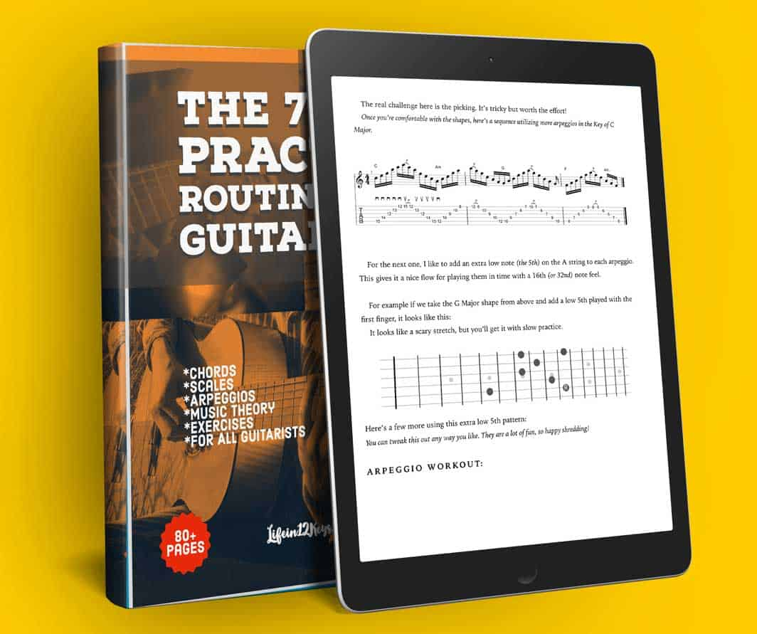 guitar practice routines