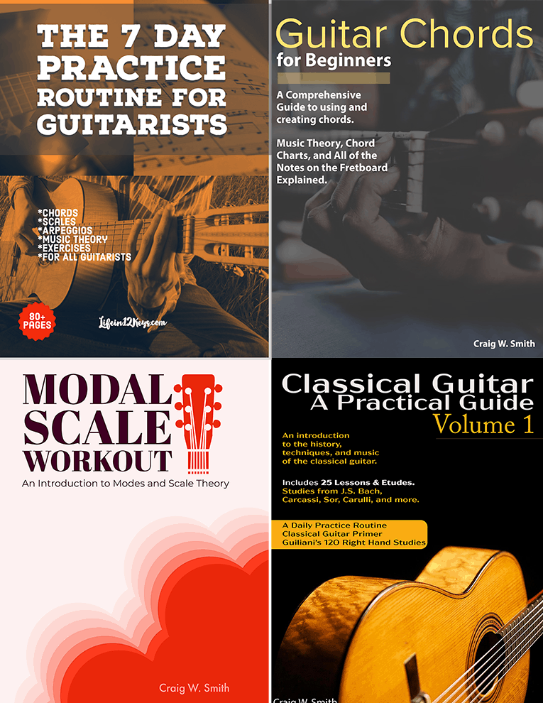 Guitarists Book Bundle